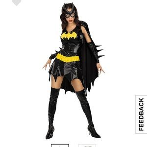 Other - Bat Woman Halloween Outfit